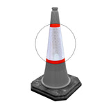 Replacement Traffic Cone Sleeves  Pack of 10 - 500mm, 750mm & 1000mm