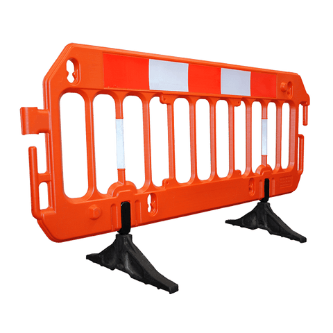 2M Vision Pedestrian Barrier Chapter 8 Road Barrier with a front view.