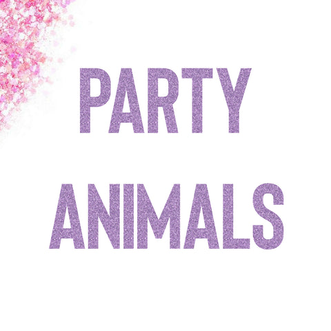 Party Animals Banner