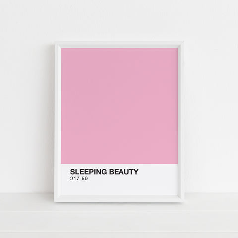 Sleeping Beauty Print | Digital Download