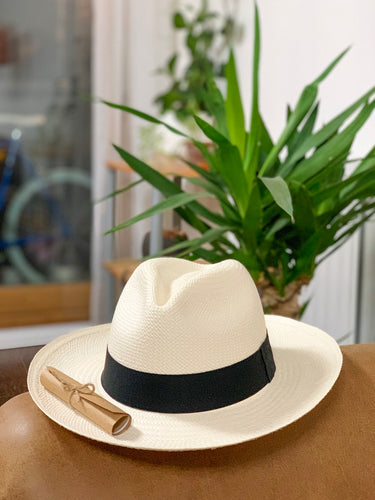 Classic Cuencan Authentic Panama Hat