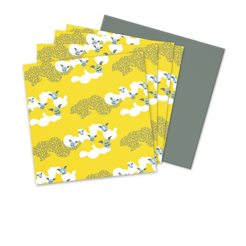 4 x Little Angel - Clouds Yellow £7