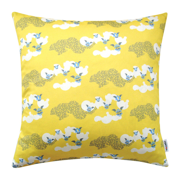 Clouds Cushion Yellow - 2 Sizes