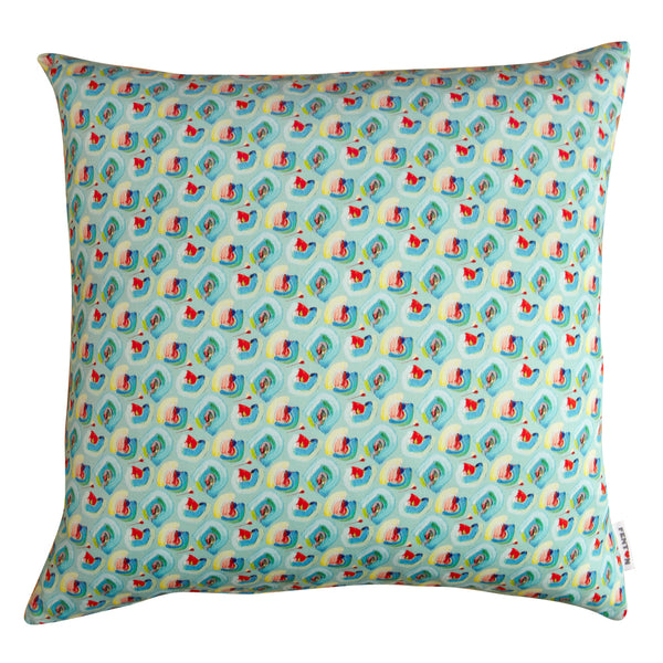 Floral Cushion Jade - 2 Sizes
