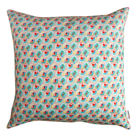 Floral Cushion Pink - 2 Sizes