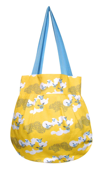 Little Angel - Clouds Yellow  £15