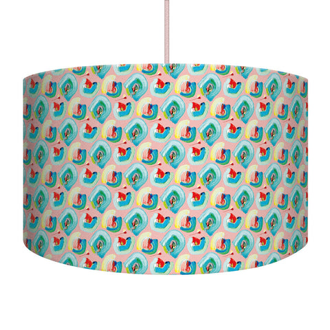 Pink Floral Lampshade/Pendant