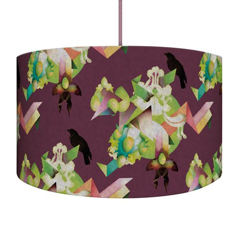 Plum Reconstruction Lampshade/Pendant