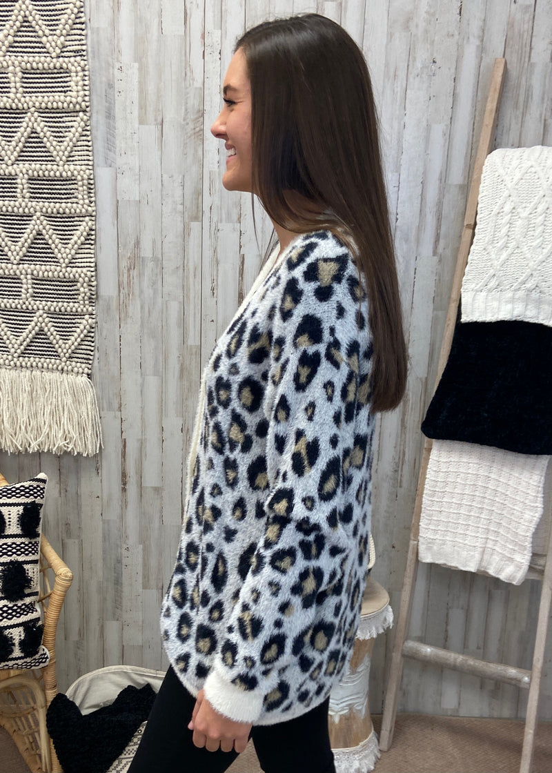 Live The Dream Ivory Leopard Cardigan-Shop-Womens-Boutique-Clothing