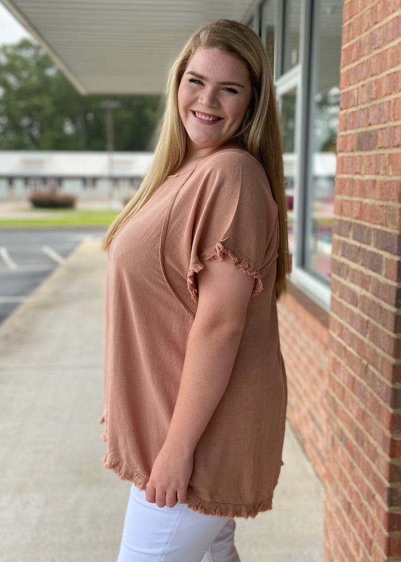 Beautiful In Everyday Plus Size Canyon Top-Shop-Womens-Boutique-Clothing