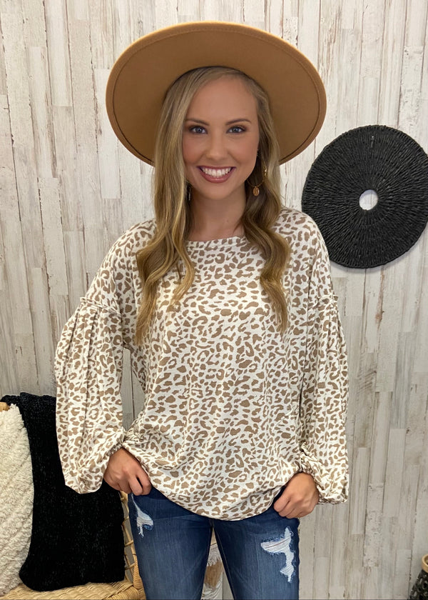 Run Away With Me Ivory Leopard Top-Shop-Womens-Boutique-Clothing