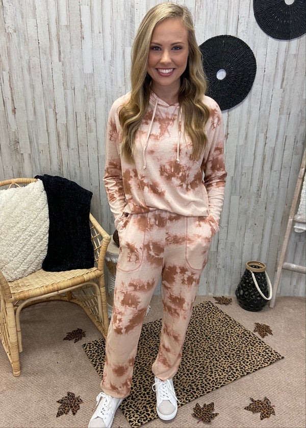 Self Care Sunday Tie Dye Joggers-Shop-Womens-Boutique-Clothing