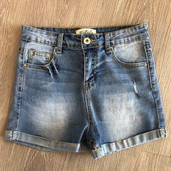 Perfect Summer Day Denim Shorts