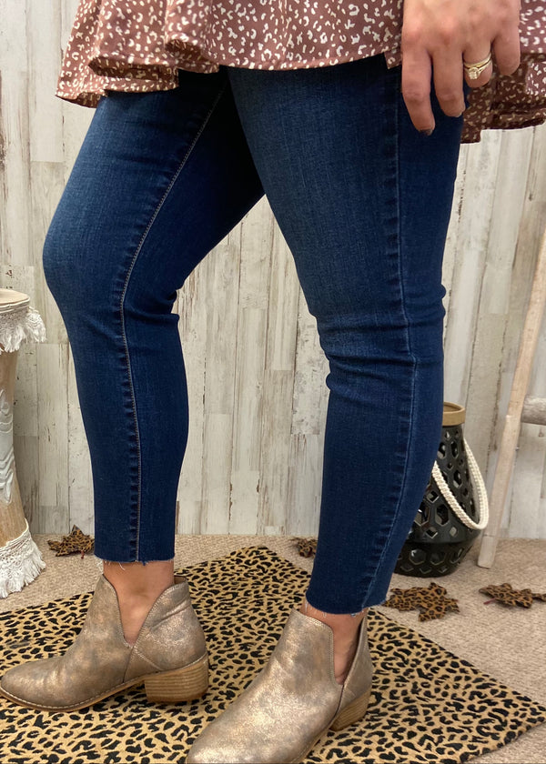 Spotlight Moment Plus Dark Denim Jeans-Shop-Womens-Boutique-Clothing
