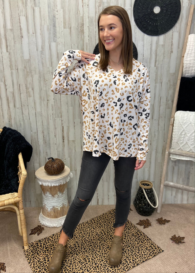 Fawning Over You Almond Leopard Top-Shop-Womens-Boutique-Clothing