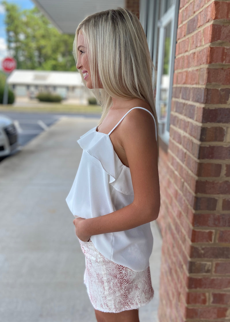 It's Just Simple Off White Cami Top-Shop-Womens-Boutique-Clothing