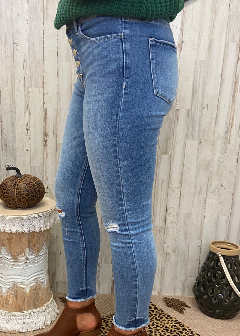 Ask Around Light High Rise Jeans-Shop-Womens-Boutique-Clothing