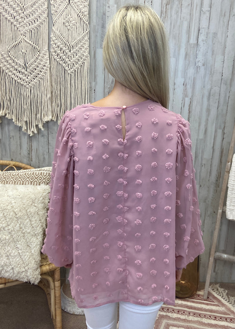 Classy Girls Blush Pompom Top-Shop-Womens-Boutique-Clothing