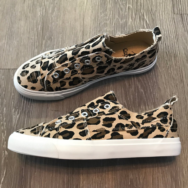 Charlie Leopard Tennis Shoes-Shop-Womens-Boutique-Clothing