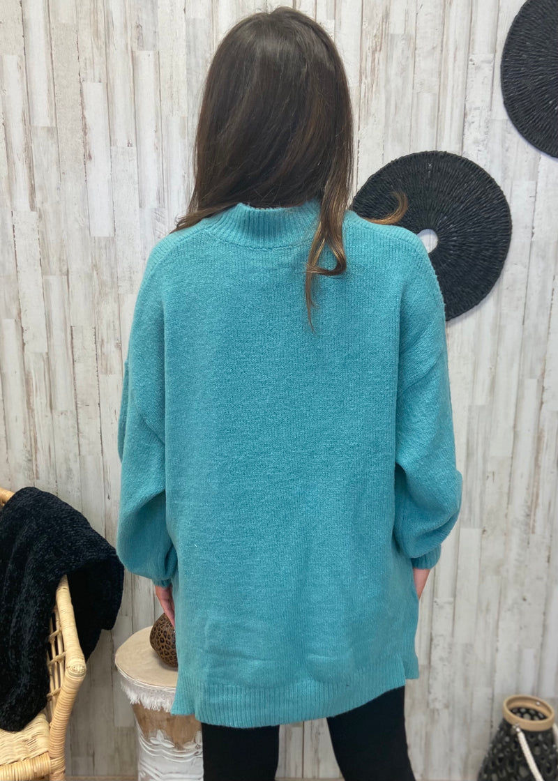 Fan Of Fall Sage Sweater-Shop-Womens-Boutique-Clothing