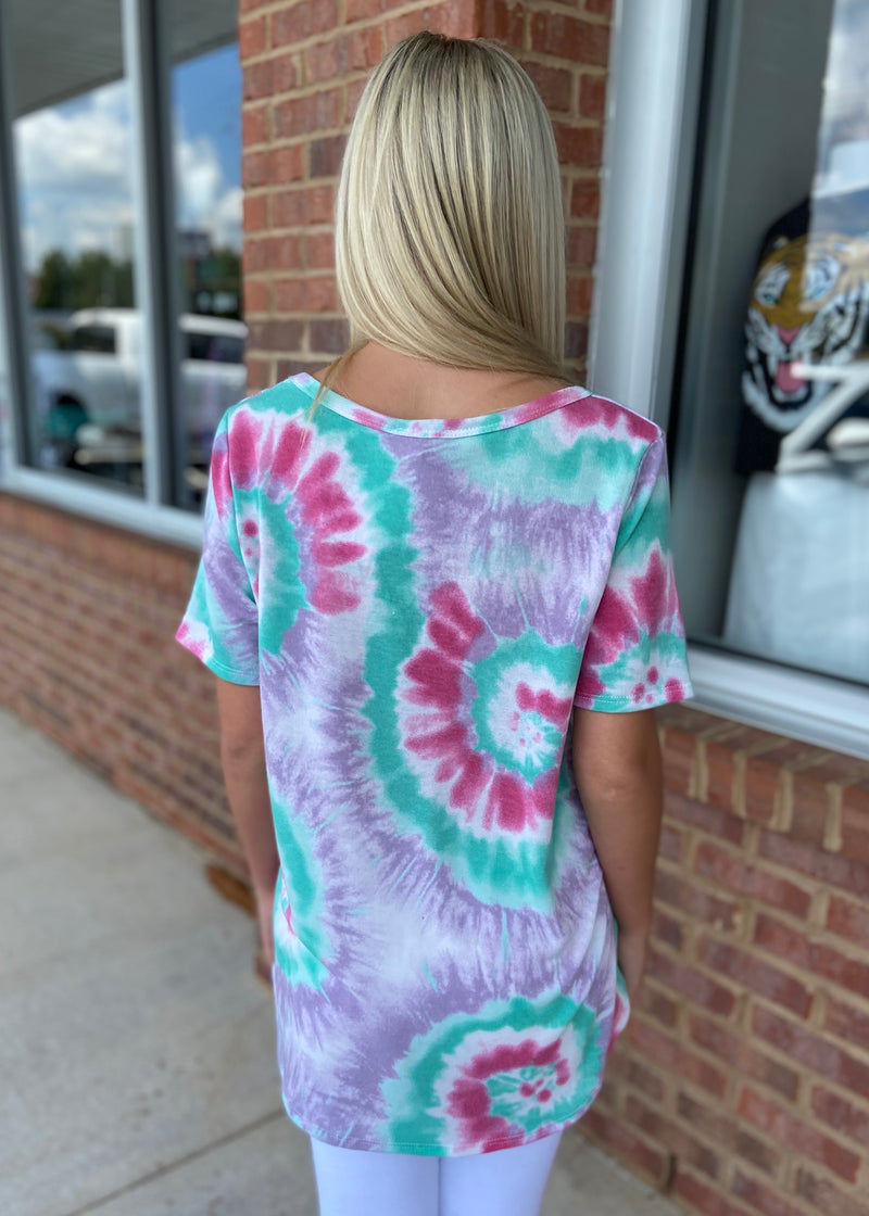 Magical Nights Mint Tie Dye Top-Shop-Womens-Boutique-Clothing