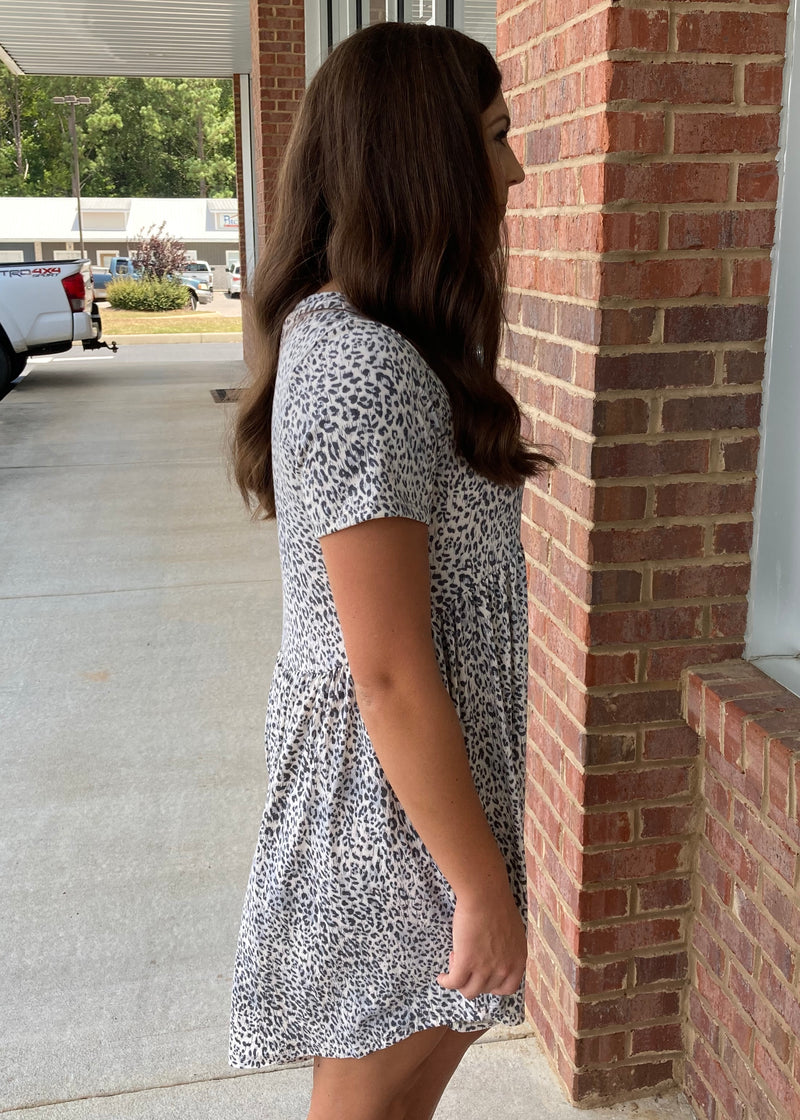 Made To Move Cream Leopard Dress-Shop-Womens-Boutique-Clothing