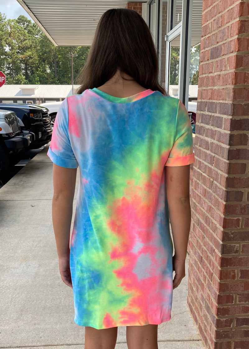 Count The Compliments Tie Dye Dress-Shop-Womens-Boutique-Clothing
