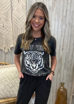 Get' Em Tiger Charcoal Top-Shop-Womens-Boutique-Clothing