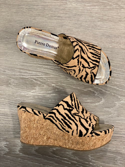 Sahara Tiger Print Slip-on Wedges-Shop-Womens-Boutique-Clothing
