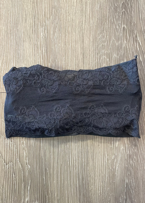 Casual Necessity Dark Grey Bandeau-One Size-Shop-Womens-Boutique-Clothing