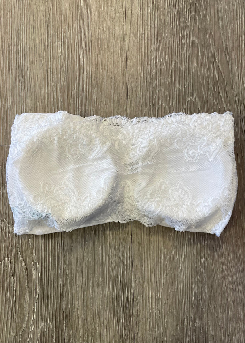 Casual Necessity White Bandeau-Regular-Shop-Womens-Boutique-Clothing