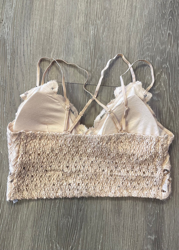 Signature Accessory Plus Nude Lace Bralette-Shop-Womens-Boutique-Clothing