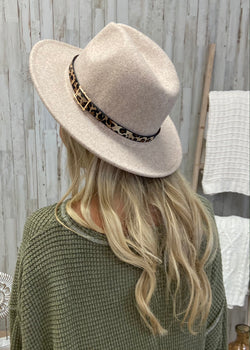 Love Fearlessly Beige Leopard Trim Hat-Regular-Shop-Womens-Boutique-Clothing