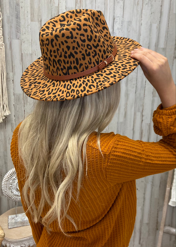 Forever Free Camel Leopard Hat-Regular-Shop-Womens-Boutique-Clothing