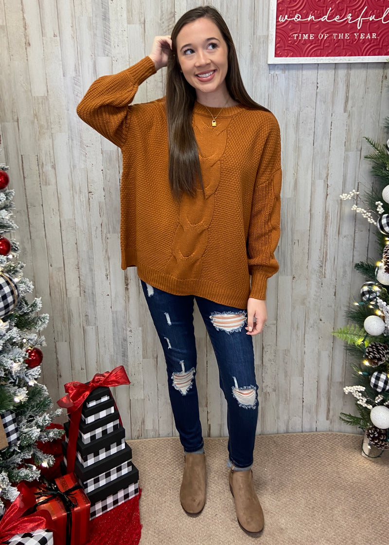 Coffee Date Almond Sweater-Shop-Womens-Boutique-Clothing