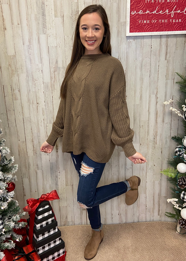 Coffee Date Mocha Sweater-Shop-Womens-Boutique-Clothing