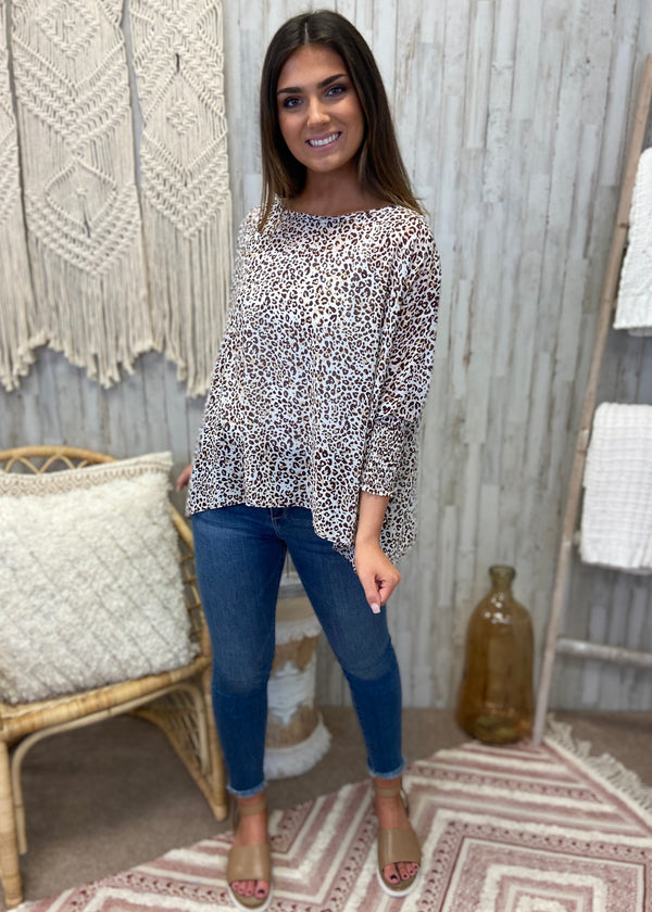 Dangerously Fierce Cappuccino Leopard Top-Shop-Womens-Boutique-Clothing