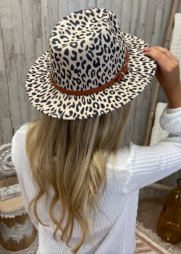 Forever Free Beige Leopard Hat-Regular-Shop-Womens-Boutique-Clothing