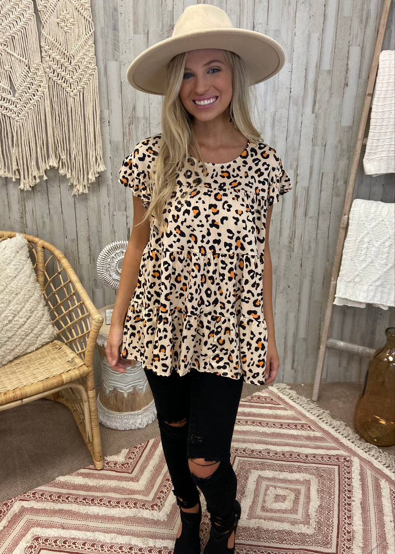 Buttercup Taupe Leopard Top-Shop-Womens-Boutique-Clothing