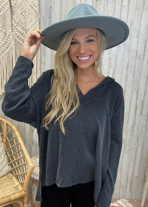Southern Nights Grey Wide Brim Hat-Regular-Shop-Womens-Boutique-Clothing