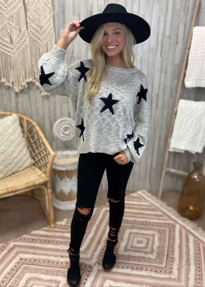 Push Your Luck Stone Star Sweater-Shop-Womens-Boutique-Clothing