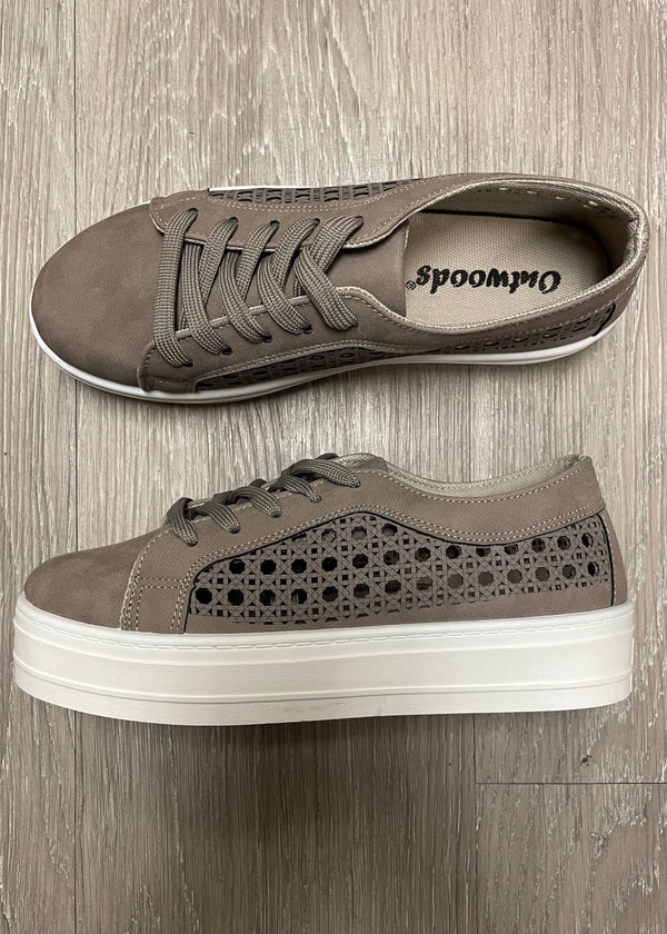 Nova Dark Grey Platform Sneakers-Shop-Womens-Boutique-Clothing
