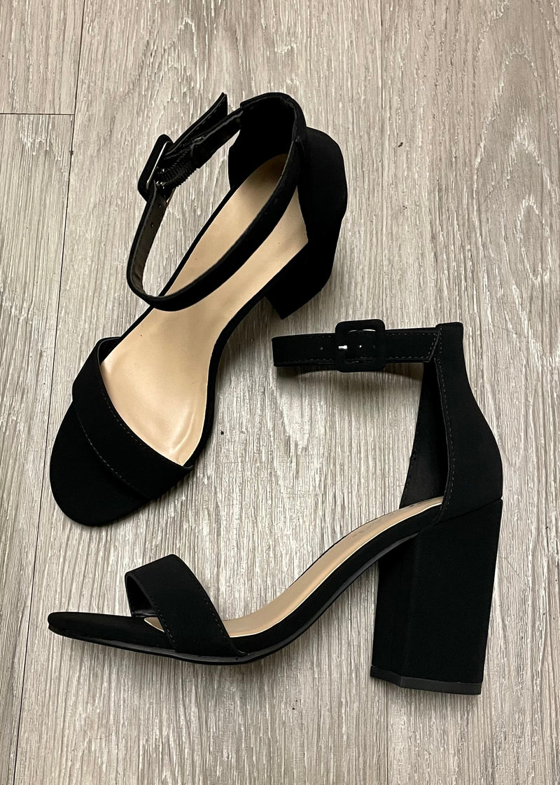 Penelope Black Chunky Heel-Shop-Womens-Boutique-Clothing