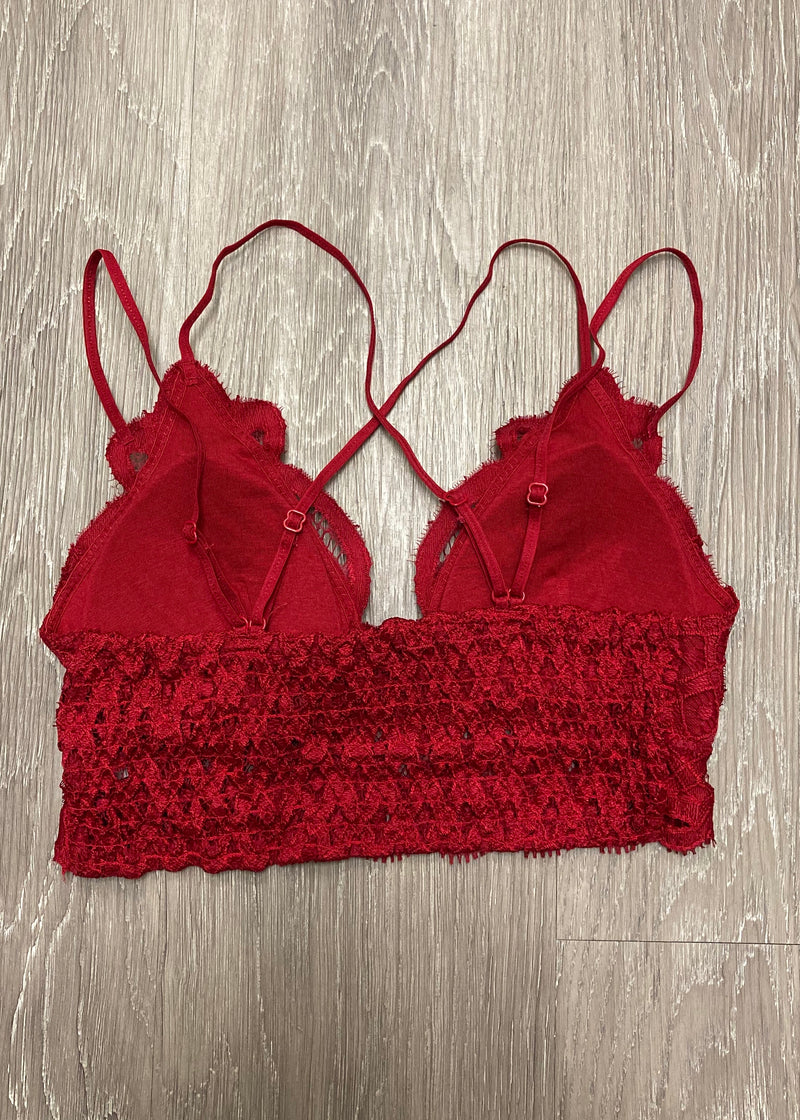Signature Accessory Chilipepper Crochet Bralette-Shop-Womens-Boutique-Clothing