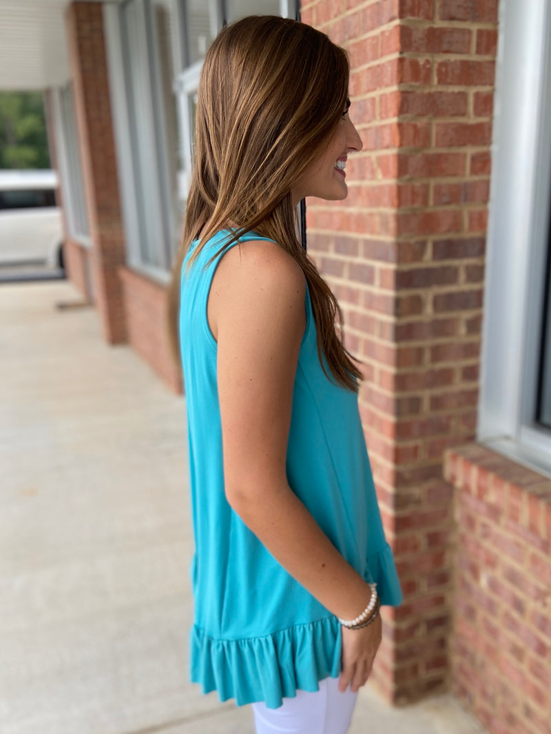 Only Love Ash Mint Top-Shop-Womens-Boutique-Clothing