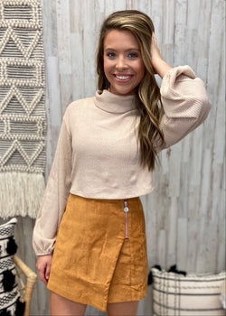 Cozy Time Sand Crop Top-Shop-Womens-Boutique-Clothing