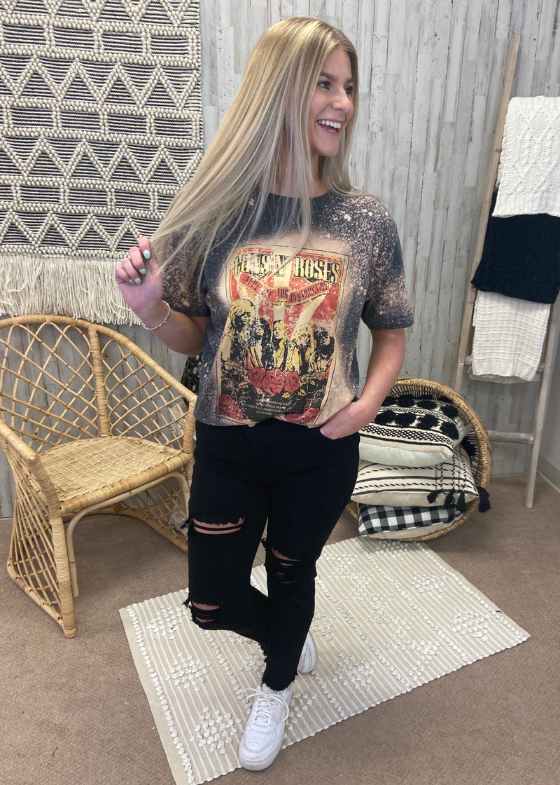 Guns N' Roses Band Tee-Shop-Womens-Boutique-Clothing
