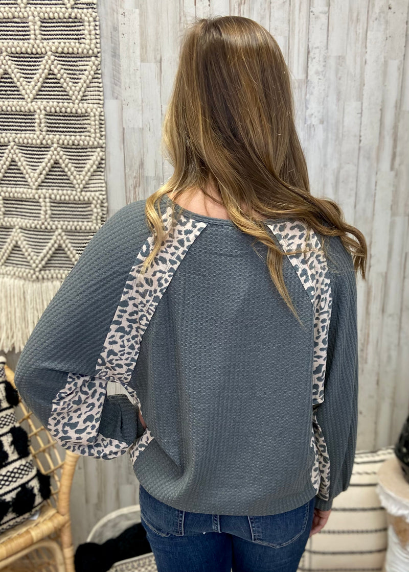 Wild Style Charcoal Leopard Top-Shop-Womens-Boutique-Clothing