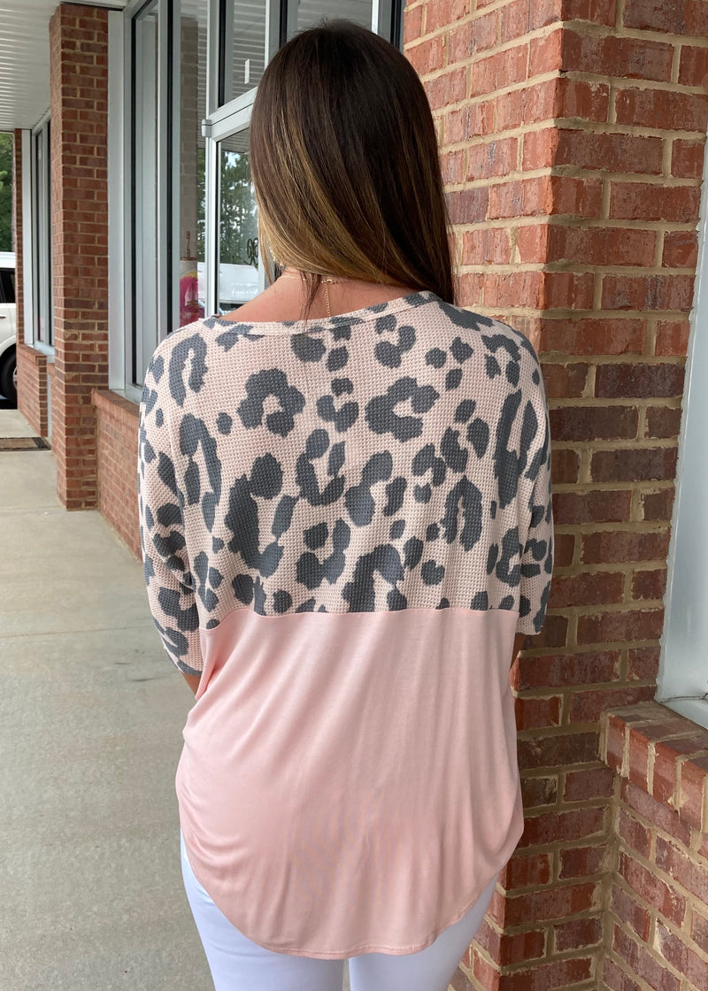 More Fierce Rose Waffle Top-Shop-Womens-Boutique-Clothing