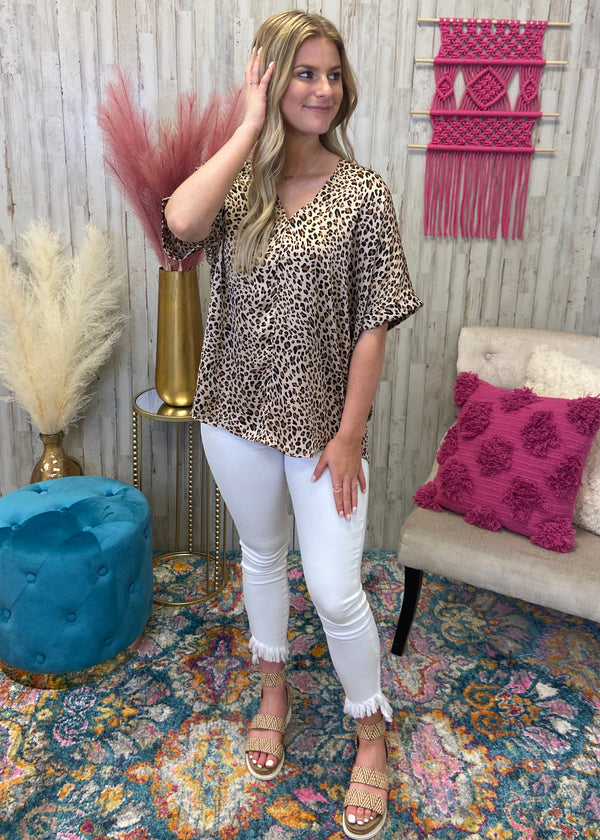 Confidently Wild Taupe Leopard Top-Shop-Womens-Boutique-Clothing